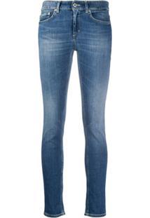 Dondup Calça Jeans Skinny Monroe Cintura Média - Azul