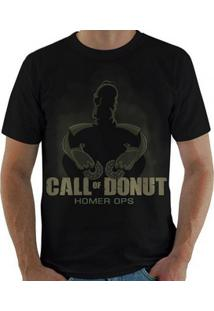 Camiseta Call Of Donut