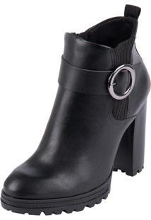 Bota Ramarim Ankle Boot Preto 39