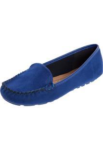 0824401bd5 Mocassim Azul Vizzano feminino
