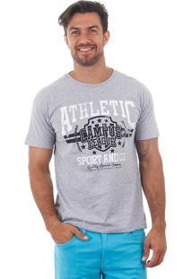 Camiseta Masculina Maidale - Bco/Cza