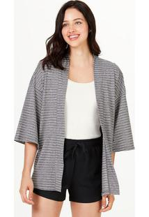 Blusa Kimono Feminina Listrada