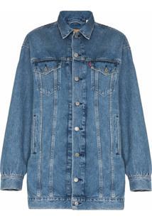 Ganni Vestido Jeans Oversized Levi'S® - Azul
