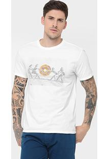 Camiseta Reserva Estampa Donuts - Masculino