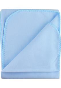 Cobertor Incomfral Algodão 70 X 90Cm Azul