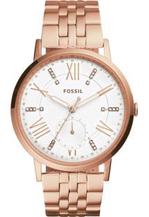 Relógio Fossil Gazer - Es4246/4Bn Rosê