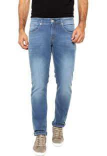 Calça Jeans Forum Slim Greg Azul