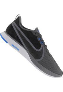 Tênis Nike Zoom Strike 2 - Masculino - Cinza Escuro/Preto
