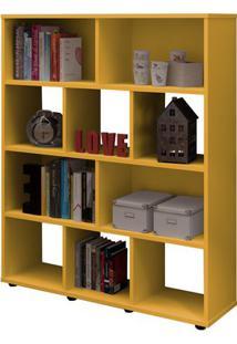Estante Book Amarela Amarelo