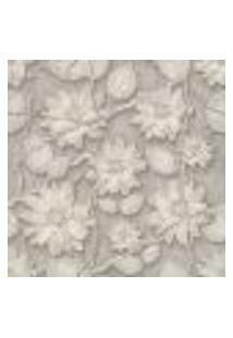 Papel De Parede Adesivo 3D Flores 378333670 Rolo 0,58X3M