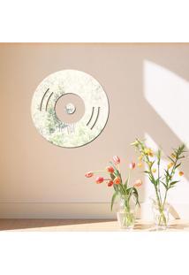 Espelho Decorativo Disco De Vinil