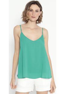 Blusa Com Aviamentos- Verde- Shirley Dantasshirley Dantas