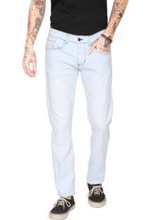 Calça Jeans Billabong Reta Fifty Azul