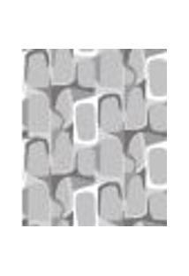 Papel De Parede Adesivo Decoração 53X10Cm Cinza -W22566