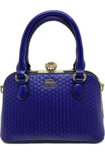 Bolsa Casual Sys Fashion 8534 Feminina - Feminino-Azul