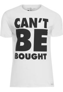 Camiseta Masculina Text Tee - Branco
