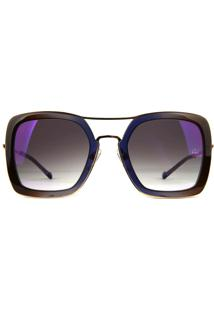 Óculos De Sol Ana Hickmann Ah3199 C01/51 Dourado
