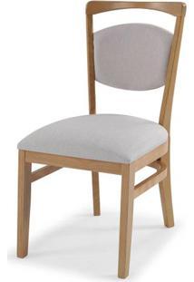 Cadeira Ruganni Sem Braco Encosto Estofado Branco 90Cm - 59700 - Sun House