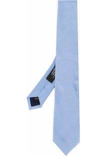 Nicky Gravata Com Padronagem - Azul