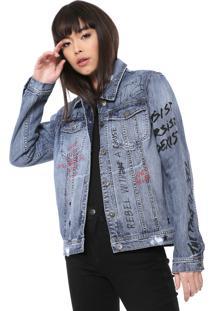 Jaqueta Jeans Ellus Originals Azul