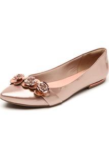 Sapatilha Dakota Flores Rosê