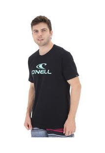 Camiseta O'Neill Estampa Corporate - Masculina - Preto