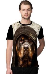 Camiseta Stompy Thug Dog Masculina - Masculino