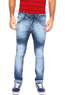Calça Jeans Biotipo Estonado Azul