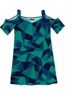 e751bb5655 Vestido Malwee Verde feminino