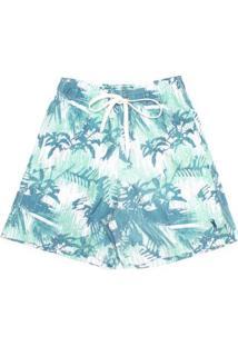 Shorts Palm Aleatory Masculino - Masculino-Verde