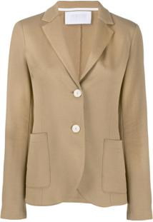 Harris Wharf London Blazer De Jersey - Neutro
