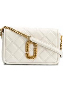 Marc Jacobs Bolsa Transversal The Status Flap - Neutro