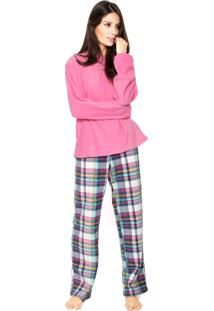 Pijama Any Any Soft Lilly Rosa