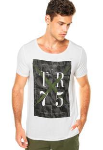 Camiseta Triton John Off-White