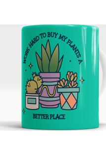 Caneca Buy My Plants A Better Place