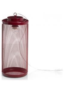 Luminária De Mesa Lanterna - Tam. G - Vinho