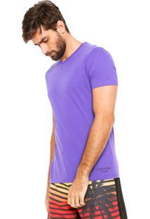 Camiseta Calvin Klein Underwear Logo Roxa