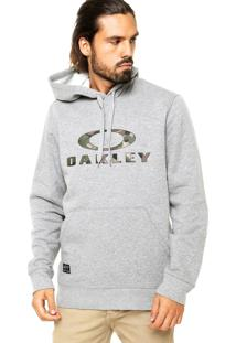 Moletom Oakley Frontside Po Fleece Training Cinza