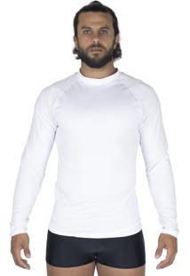 Camisa Bravaa Modas Térmica 037 Branca