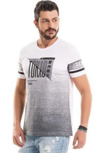 Camiseta Tokyo Com Foil Branco Bgo