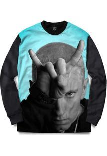Blusa Bsc Eminem Full Print - Masculino