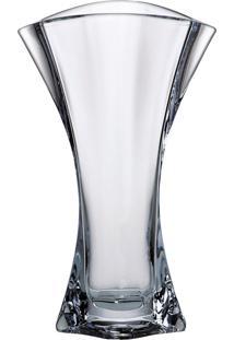 Vaso Grande Bohemia 31,5 Cm Orbit Incolor