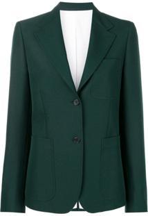 Calvin Klein 205W39Nyc Patch Pocket Blazer - Verde