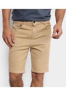 Bermuda Jeans Quiksilver Street Color Masculina - Masculino-Verde