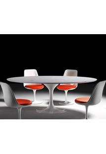 Mesa Jantar Saarinen 1,98X1,22 Marmore Carrara Branco 19560 Sun House