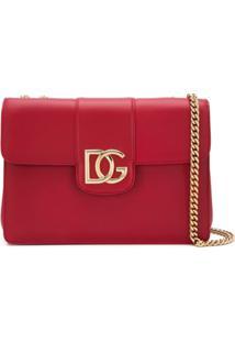 Dolce & Gabbana Bolsa Tiracolo Dg Millennials - Vermelho