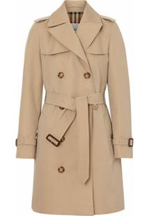 Burberry Trench Coat The Short Islington - Neutro