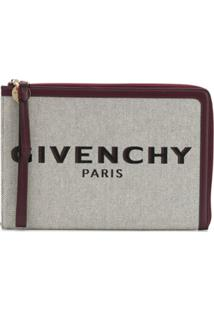 Givenchy Bond Zipped Clutch - Neutro