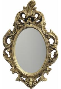 Espelho Casa Da Mãe Joana Bologna Dourado