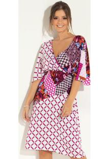 85f3efc642 Vestido Pink Quintess feminino